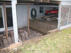 Click to view album: Timber Replacement with Stone Wall