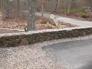 Brewster Stone Wall Repair