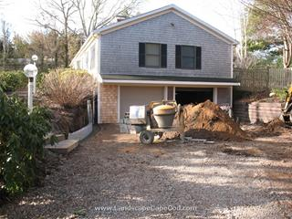 New Stone Retaining Walls
