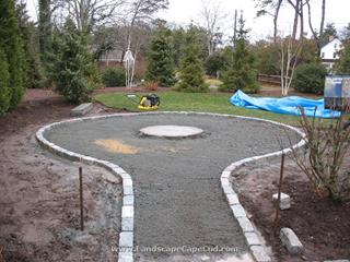 Firepit Construction in Chatham
