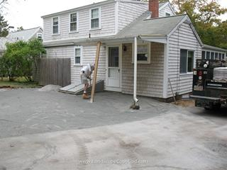 Base for Interlocking Paver Patio