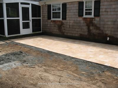 Click to view album: Travertine Patio