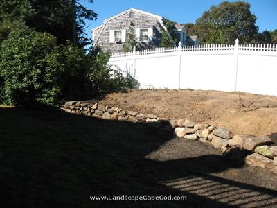 Click to view album: Natural Stone Retaining Wall