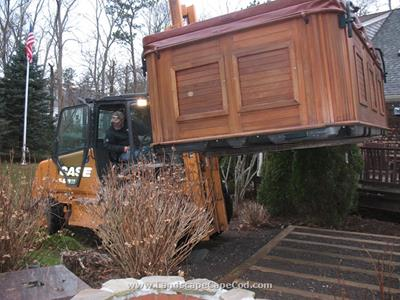 Click to view album: Hot Tub Installation
