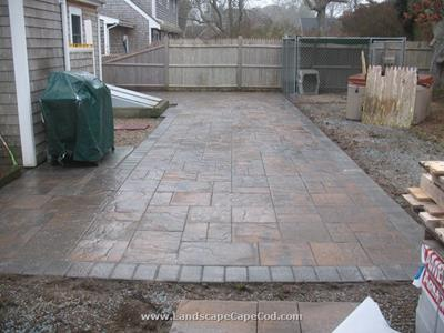 Click to view album: New Paver Patio