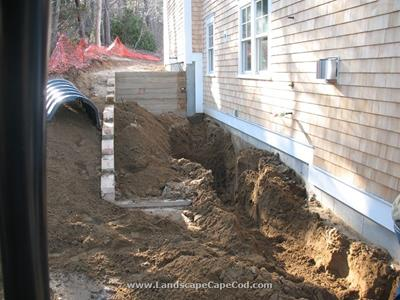 Click to view album: Chatham Retaining Wall