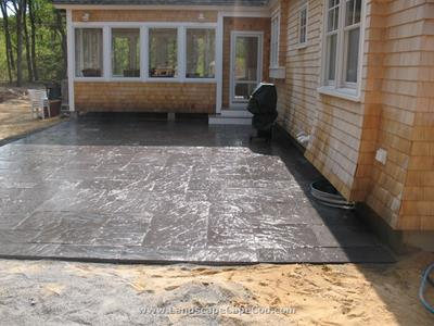 Click to view album: Manufactured Slate Patio
