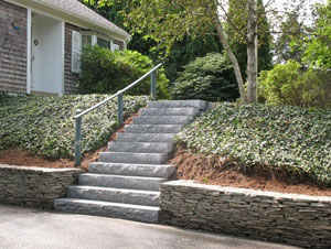 Truro Retaining Walls